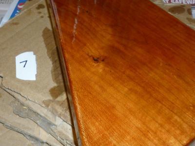 after seven coats of varnish
