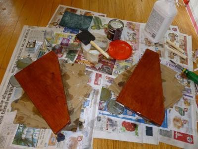 after ten coats of varnish