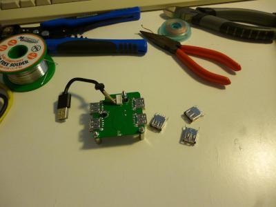 ready to modify the USB hub