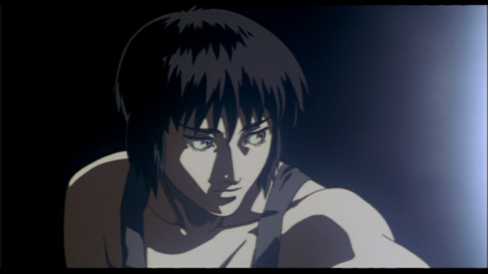 [The Major, from the 1995 animated Ghost in the Shell movie]