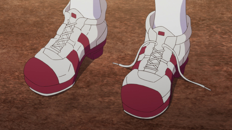 [Silence Suzuka's shoe comes undone right before a race - again]