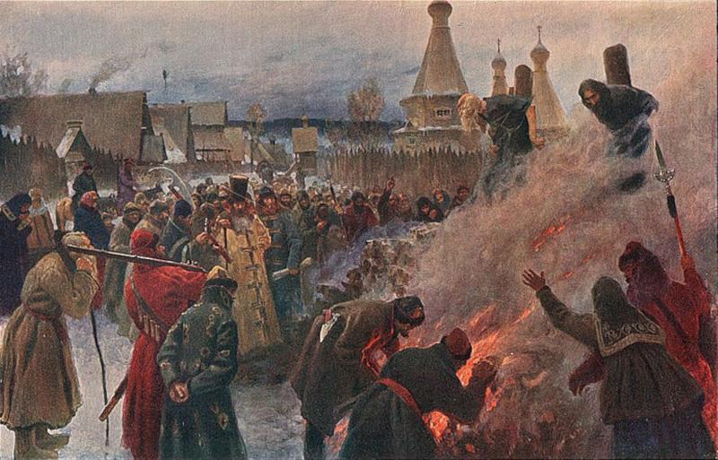 Burning of Avvakum