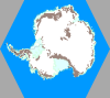[Shot of entire Antarctic map]